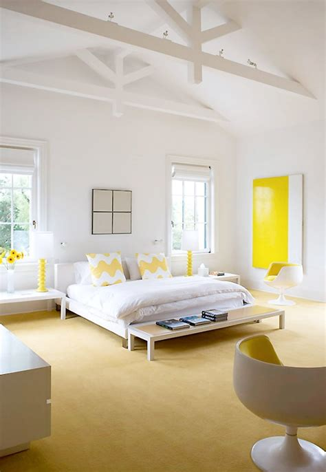 white and yellow bedroom ideas stylish bedroom design ideas with yellow colors and