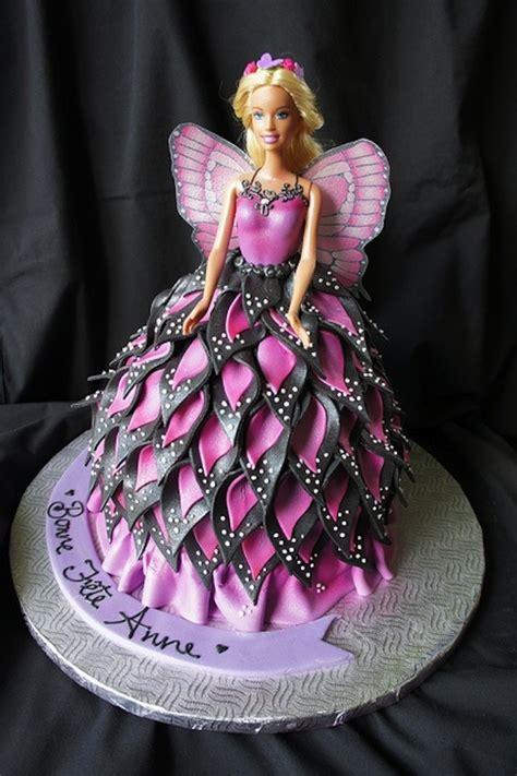 Birthday Cake Ideas. barbie theme for best birthday cake: Barbie In Flower Dress Birthday Cake
