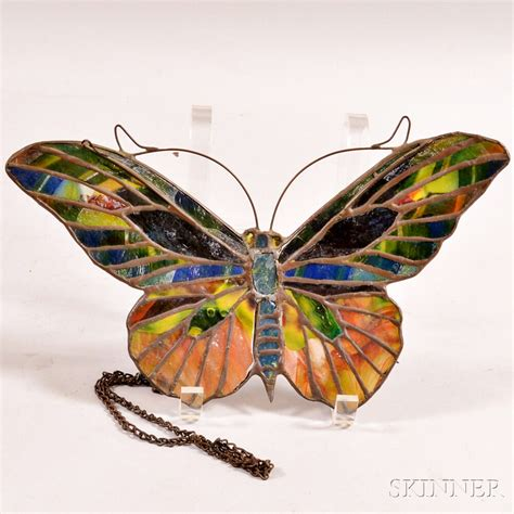 Stained Glass L Forms by Stained Glass Moth Form L Screen Sale Number 2910m