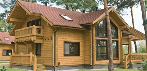 Lake Cabin Kits by Finnish Log Homes Log Cabins