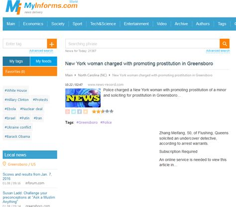 News Records News Record Quietly Changes Prostitution Story To