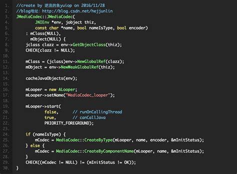 android mediacodec android multimedia框架总结 二十一 mediacodec中创建到start过程 到jni部分