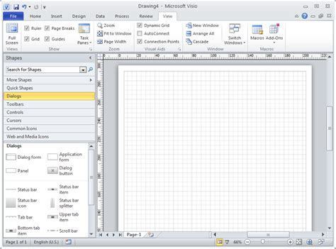 visio for office 2010 sketch and prototype tools review part 3 microsoft