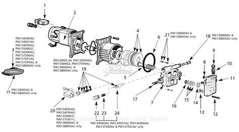 campbell hausfeld pwb parts diagram  pump parts