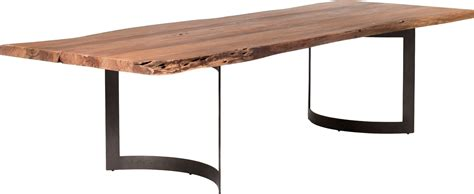 light brown dining table bent light brown large dining table from moes home
