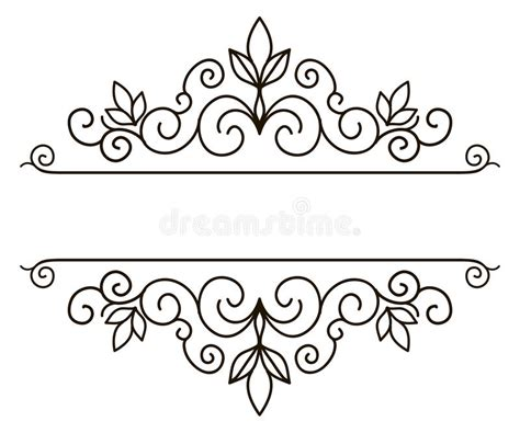 design banner elegant elegant frame banner floral elements vector illustration