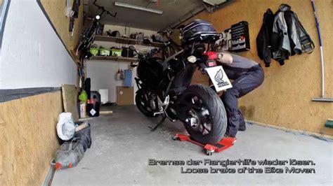 Motorrad Rangierhilfe Youtube by How To Do Rothewald Rangierhilfe Rothewald Bike