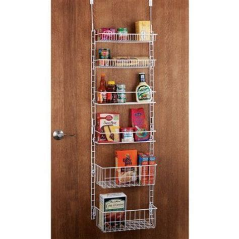 Kitchen Pantry Door Storage Racks by Back Of Door Storage Rack Organization