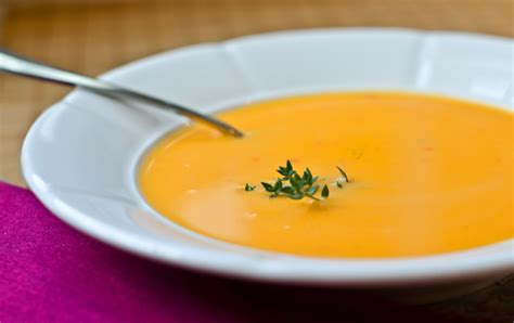 easy butternut squash soup once upon a chef