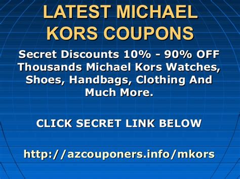 michael kors outlet printable coupons 2012 michael kors coupons code promo code discount code 2013
