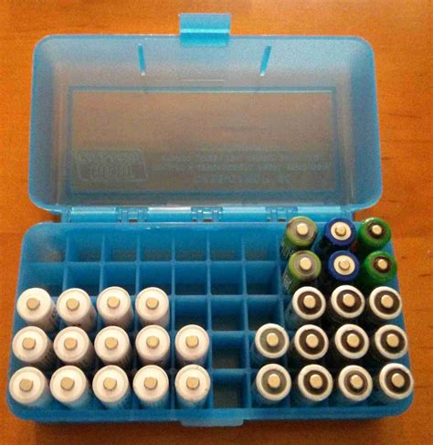 aa battery storage container aa battery holders equipment jwsoundgroup