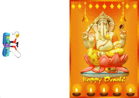 free diwali cards templates printable diwali cards