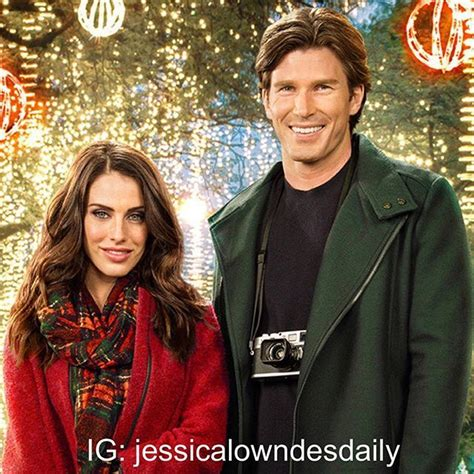 christopher russell hallmark jessica lowndes and christopher russell jessicalowndes
