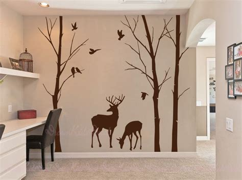 deer wall sticker discover and save creative ideas