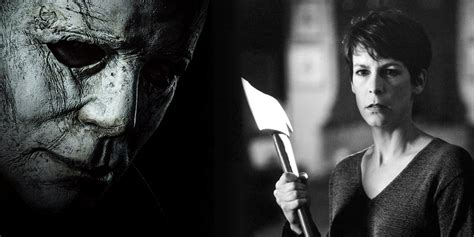 michael myers x laurie halloween reboot is original film retold with laurie s