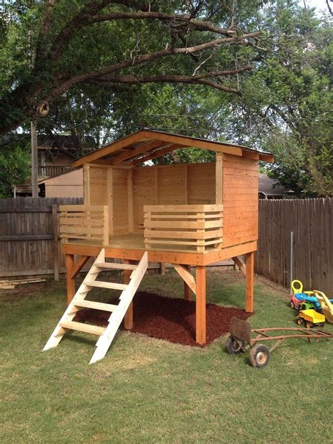 backyard play forts best 10 backyard fort ideas on pinterest tree house