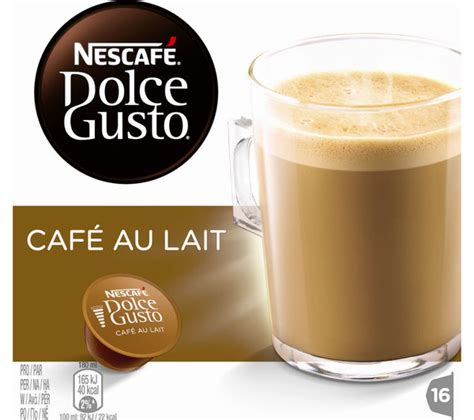 Nescafe Dolce Gusto Au Lait Murah buy nescafe dolce gusto caf 233 au lait pack of 16 free delivery currys