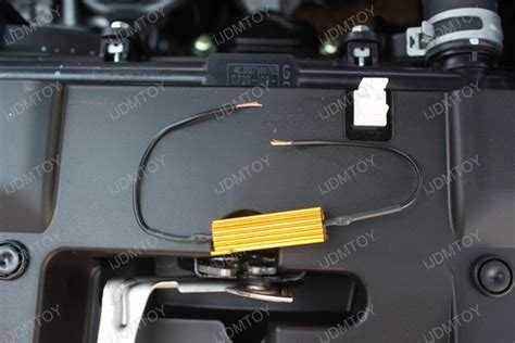 led resistors mounting how to install 50w 6 ohm load resistor for led turn signal lights