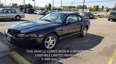 Mustang Auto Dallas Tx by 2001 Ford Mustang For Sale Dallas Tx Carsforsale