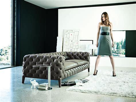 divani capitonne divano capitonn 233 in pelle divano in pelle arketipo
