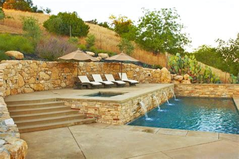 Small Sloped Backyard Ideas How To Build A Pool What To Do With A Sloped Backyard Spp Inground Pool Kit