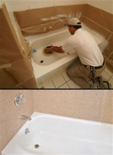 bathtub resurfacing diy diy bathtub refinishing miracle method