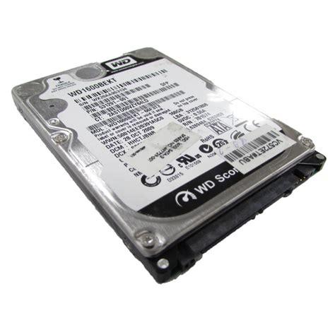 Wdc 160gb Sata2 western digital scorpio black wd1600bekt 160gb sata 2 5 quot laptop drive ebay