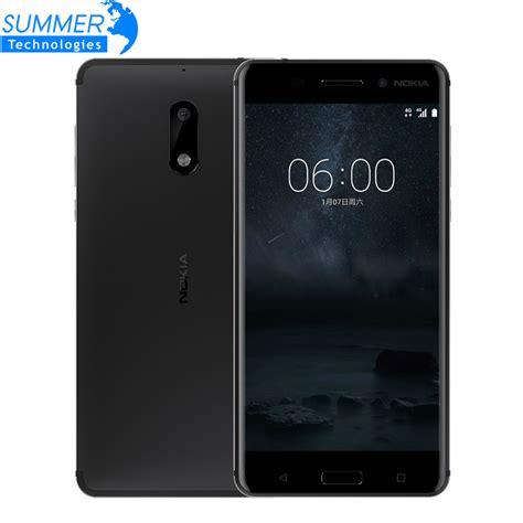 Nokia Lumia Octacore original nokia 6 mobile phone octa 4g ram 64g rom android 7 0 dual sim 5 5 3000mah 4g lte
