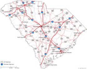 south carolina map and south carolina satellite images