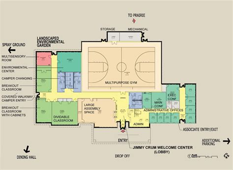 recreation center floor plans find house plans