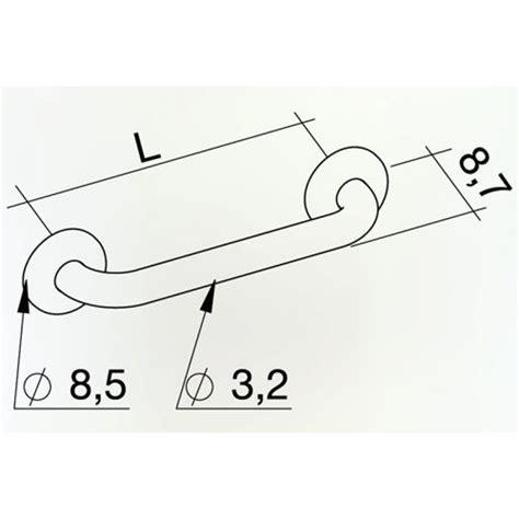 corrimano per disabili maniglione in acciaio inox per disabili k design san marco