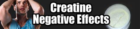 creatine negatives creatine negative effects mr supplement australia