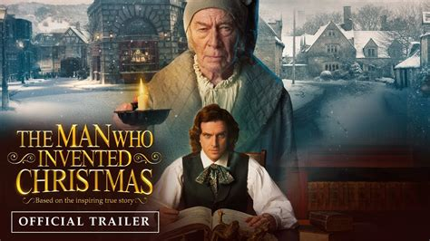 movie websites the man who invented christmas by dan stevens the man who invented christmas official trailer youtube