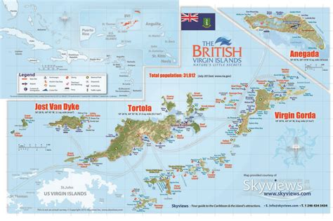 tortola map marinemax vacations map of the bvi g o maps islands