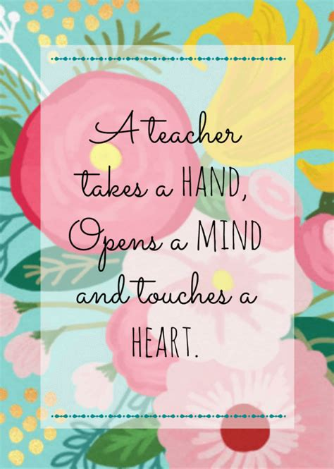 printable quotes about teachers free printable teacher appreciation