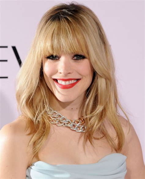 pictures of women wearing the rachel haircut rachel mcadams hairstyle makeup dresses shoes and