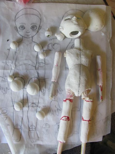 design your own jointed doll 103 best jointed dolls images on