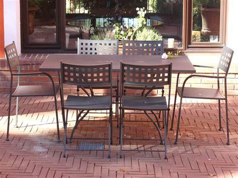 giardino dell eros eros 140 per bar e ristoranti tavolo in acciao zincato