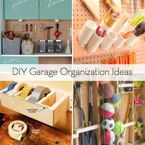 diy organization ideas roundup 10 diy garage organization ideas curbly
