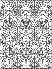 tessellation coloring pages tessellation patterns coloring pages
