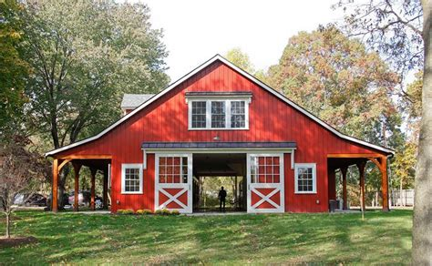 red barn plans 25 best ideas about barn plans on pinterest horse barns