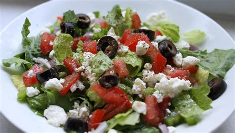 greek salad recipe dishmaps