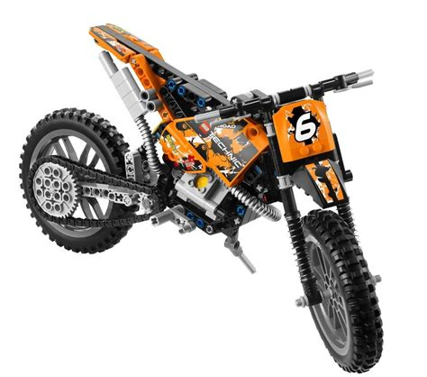lego technic motocross bike lego technic moto cross bike 42007 my lego style