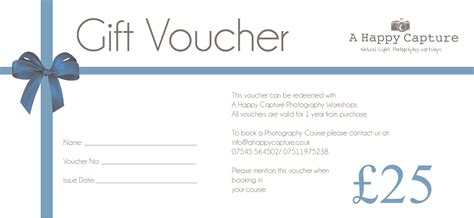 blank voucher template free format sles of gift voucher and certificate