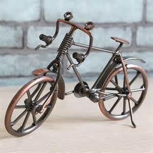 dekoration fahrrad eisen fahrrad modell retro handwerk schreibtisch deko