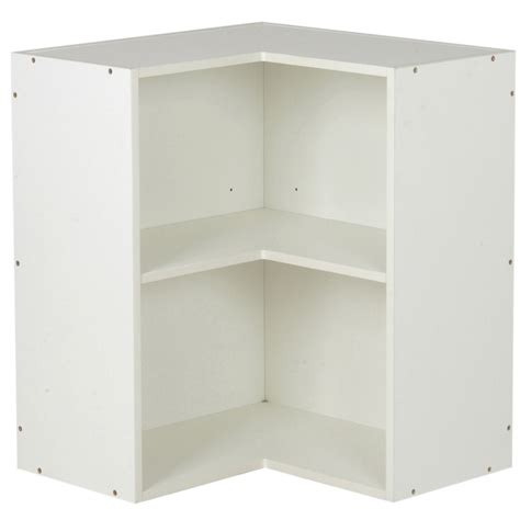 kaboodle 600mm wall corner cabinet assembled country
