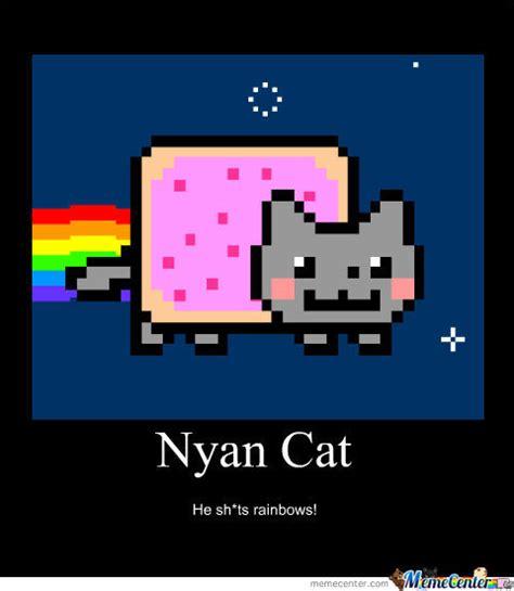 Nyan Meme - nyan cat by cassiecat23 meme center
