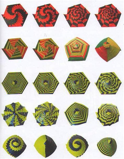 Origami Curlicue - curlicue kinetic origami origami origami