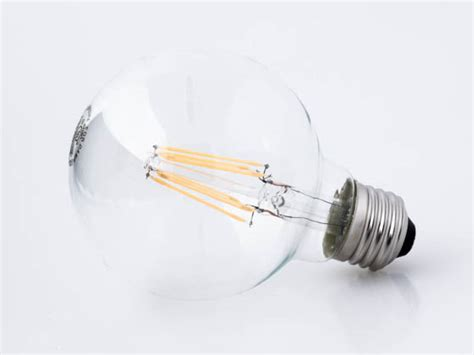 satco dimmable 6 5w 2700k g25 filament led bulb for