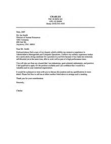 exles of cover letters for administrative 17 best images about letter on cover